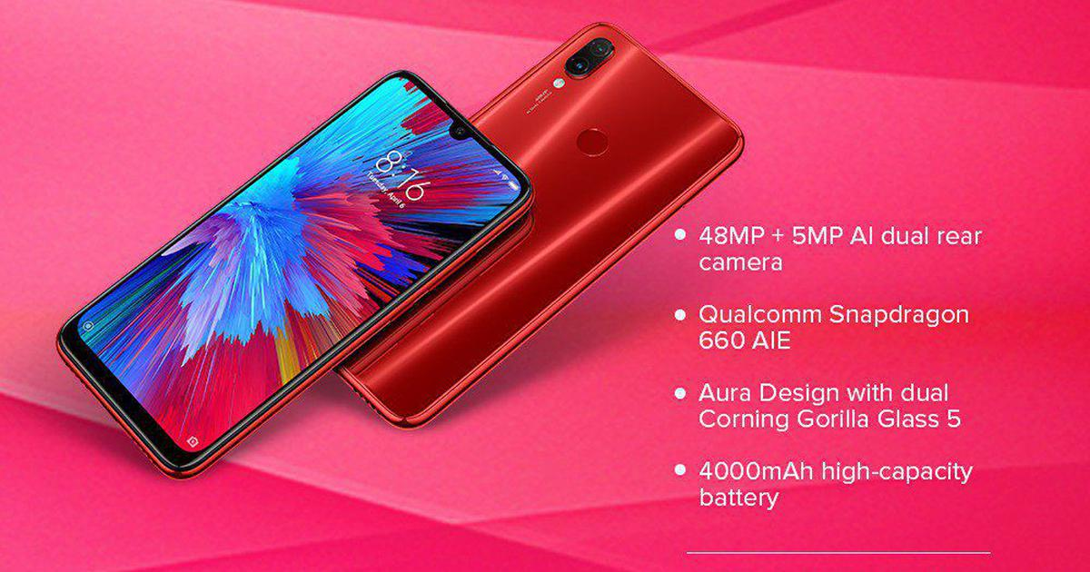 Redmi Note 7S online sale begins today from 12 pm onwards