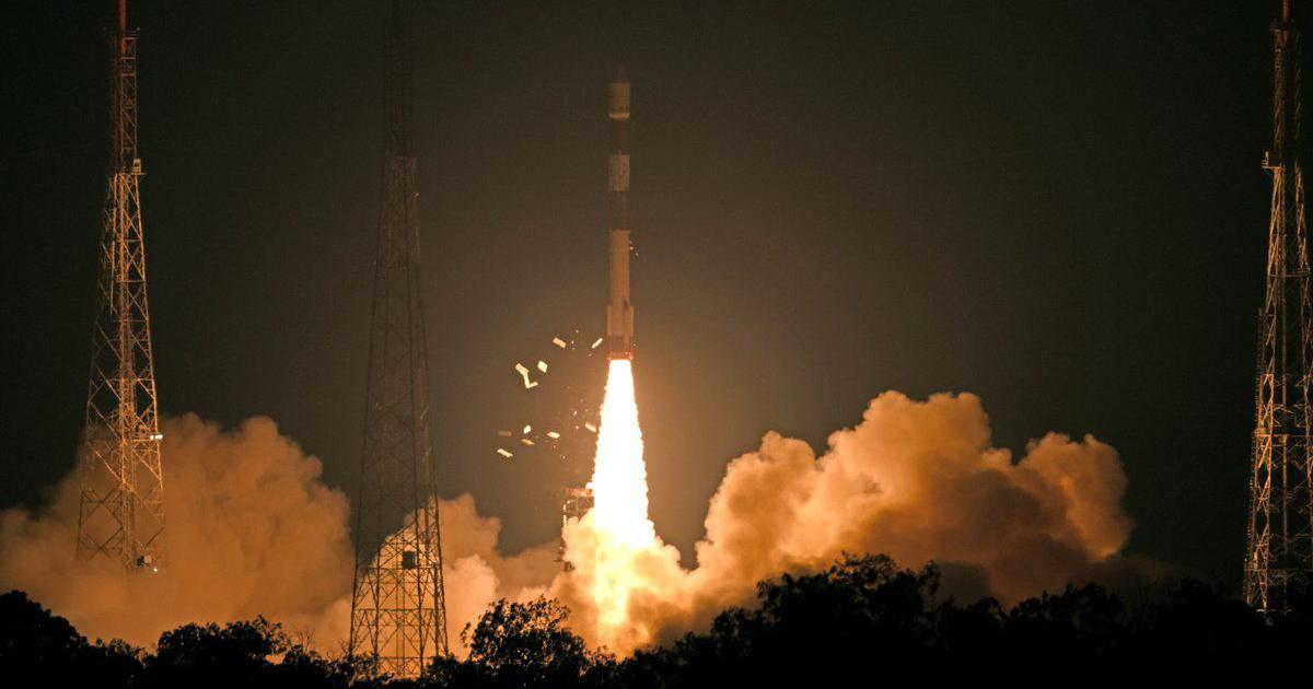 ISRO launches earth observation satellite RISAT-2B into space