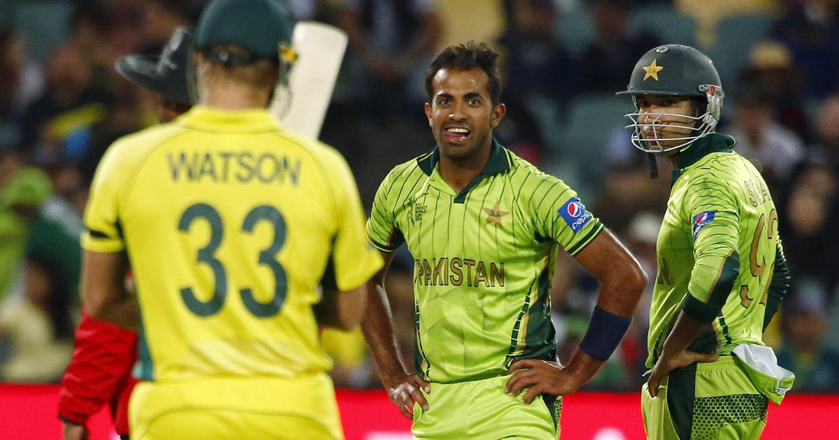 World Cup moments: When Wahab Riaz worked up Shane Watson with his raw pace in 2015