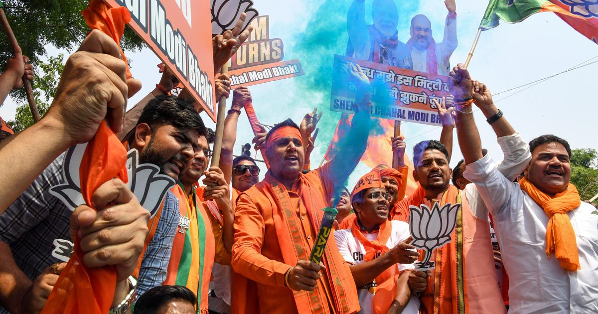 Elections 2019: BJP wins 15 seats, ahead in 288; Congress lags behind with just two wins