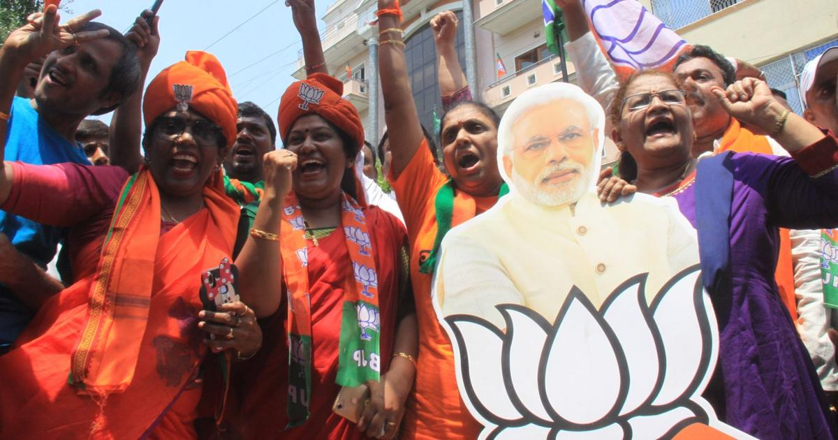 Election results 2019: BJP vote share is 50% or more in 13 states, Union territories