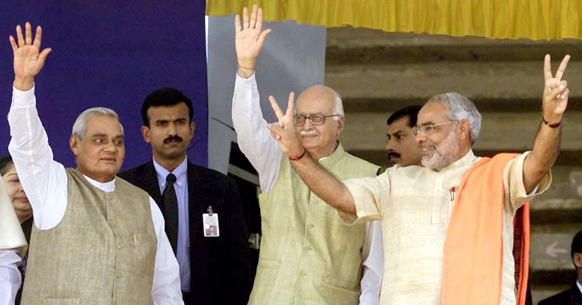From Vajpayee's founding speech to Modi's deeds, the BJP has deviated from its stated ideals