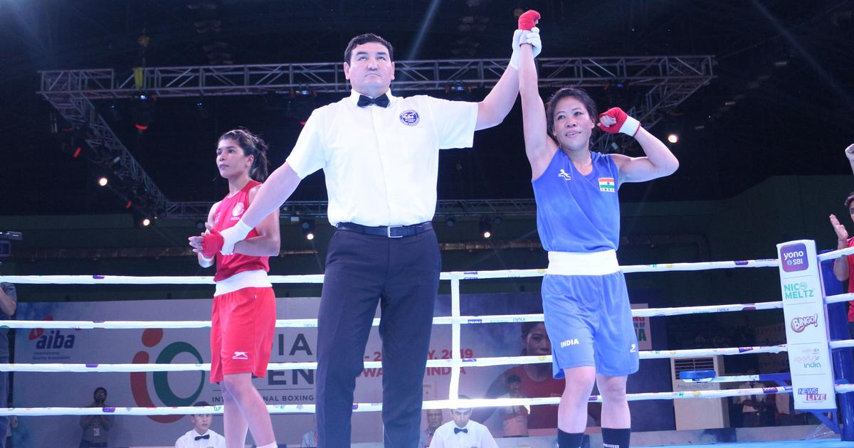 Indian Open Boxing: 'Irritated' Mary Kom overcomes Nikhat Zareen's challenge to enter final