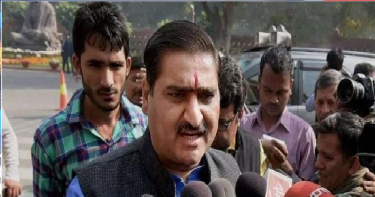 Aligarh: Sending AMU's Jinnah portrait to Pakistan is top priority, claims BJP MP Satish Gautam