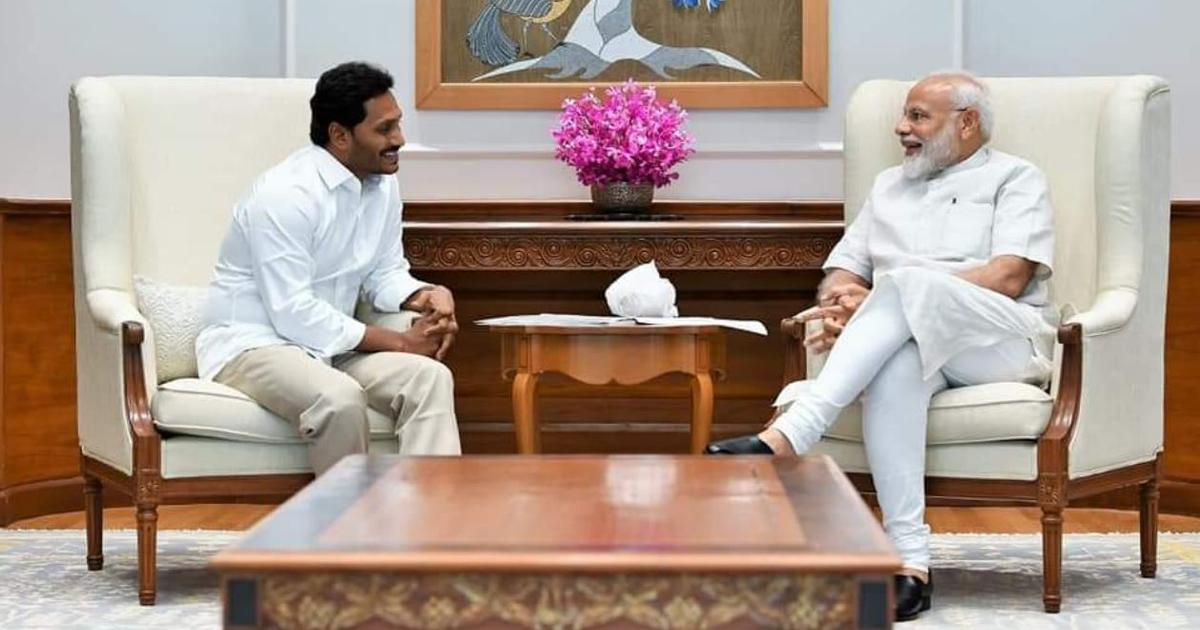 Andhra Pradesh CM YS Jagan Mohan Reddy meets PM Modi, discusses pending dues for projects