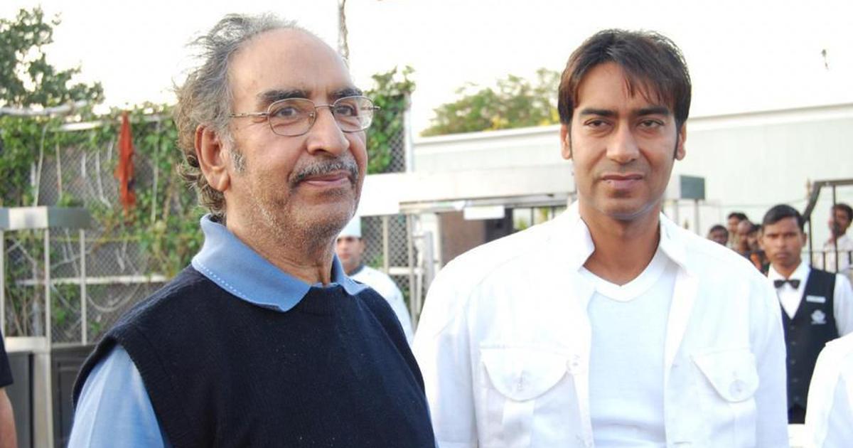 Stunt director and actor Ajay Devgn's father Veeru Devgan dies at 77 in Mumbai