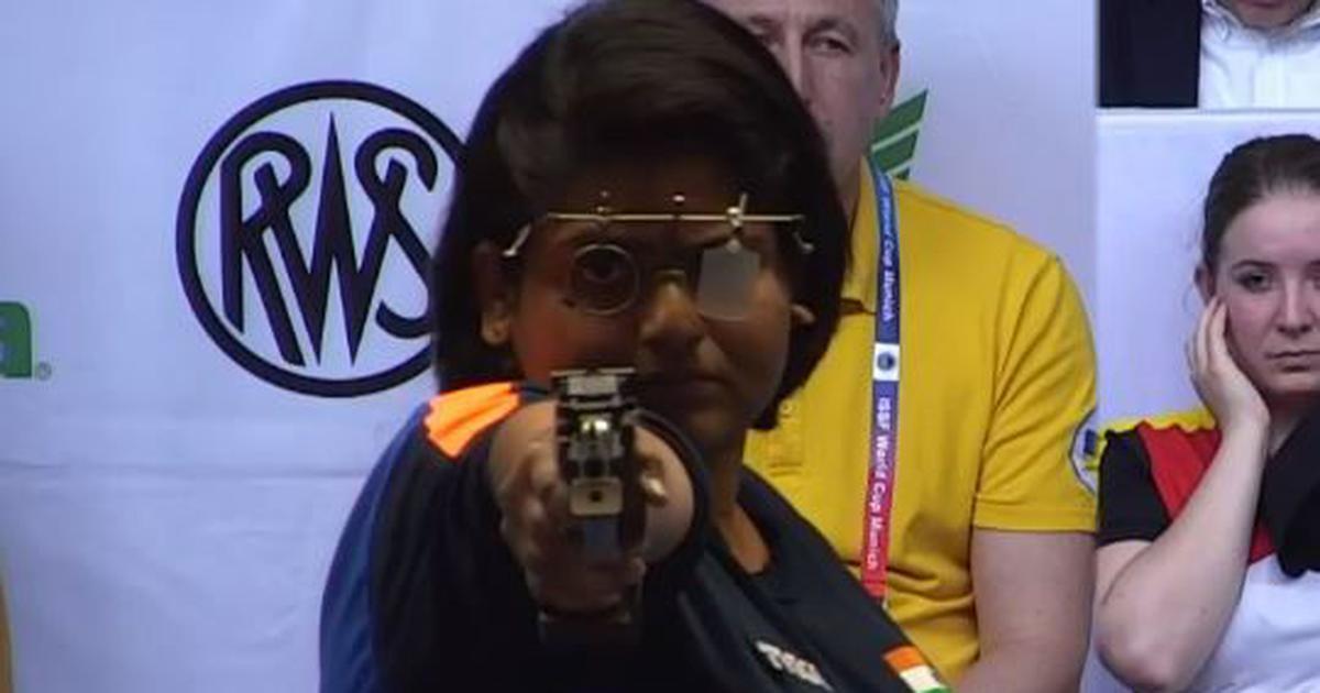 Shooting World Cup: Rahi Sarnobat wins 25m pistol gold in Munich, seals Olympic quota spot