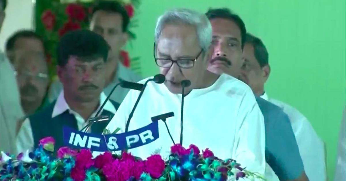 नवीन पटनायक ने लगातार पांचवीं बार ओडिशा के मुख्यमंत्री पद की शपथ ली