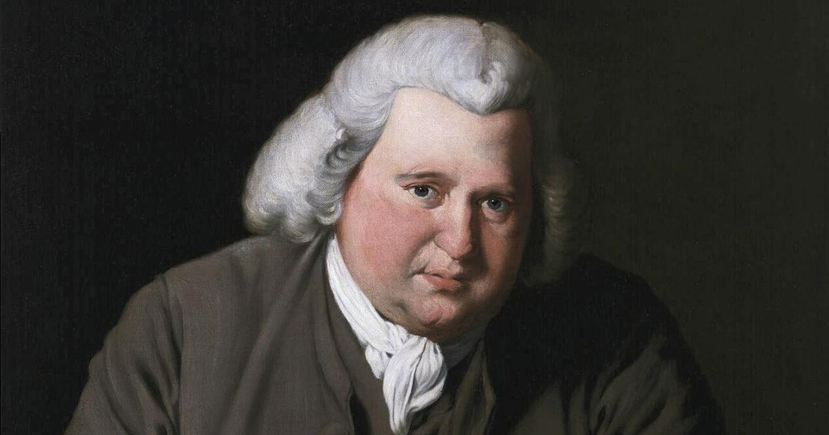 How Erasmus Darwin's poetry foretold his grandson Charles Darwin's theory of evolution
