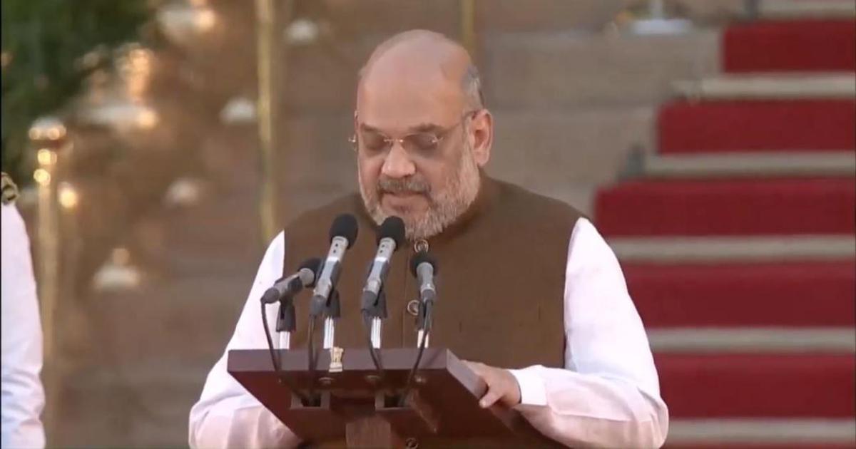 BJP President Amit Shah joins Prime Minister Narendra Modi's Cabinet