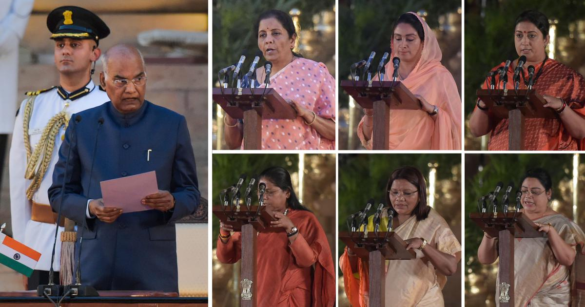 Six women inducted into Narendra Modi's new Council of Ministers