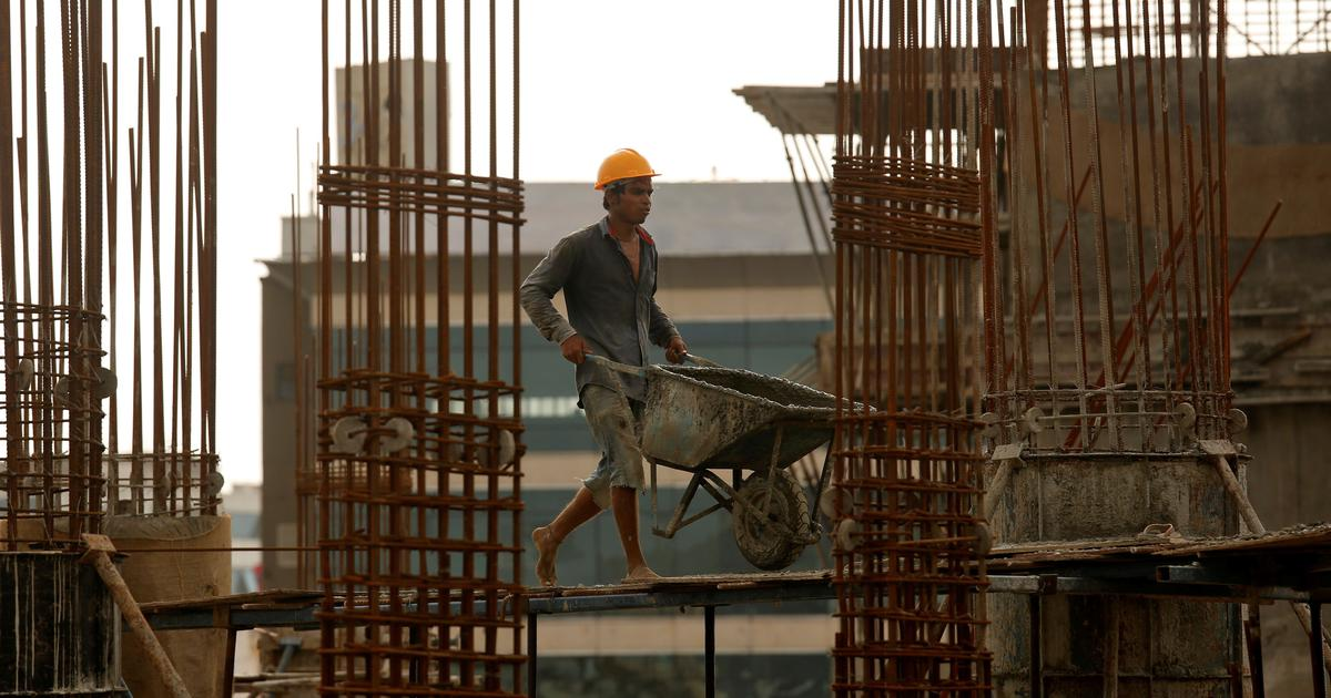 India's economic growth slipped to 5.8% in January-March – slowest in over four years