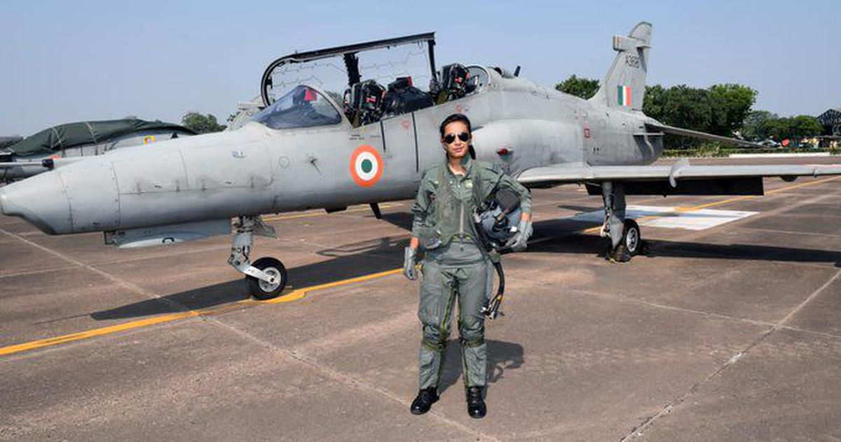 Flight Lieutenant Mohana Singh becomes first woman fighter pilot to fly a Hawk aircraft