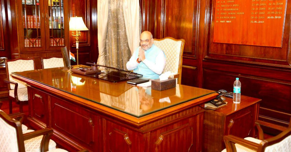 Modi Cabinet: Amit Shah takes charge as Union home minister