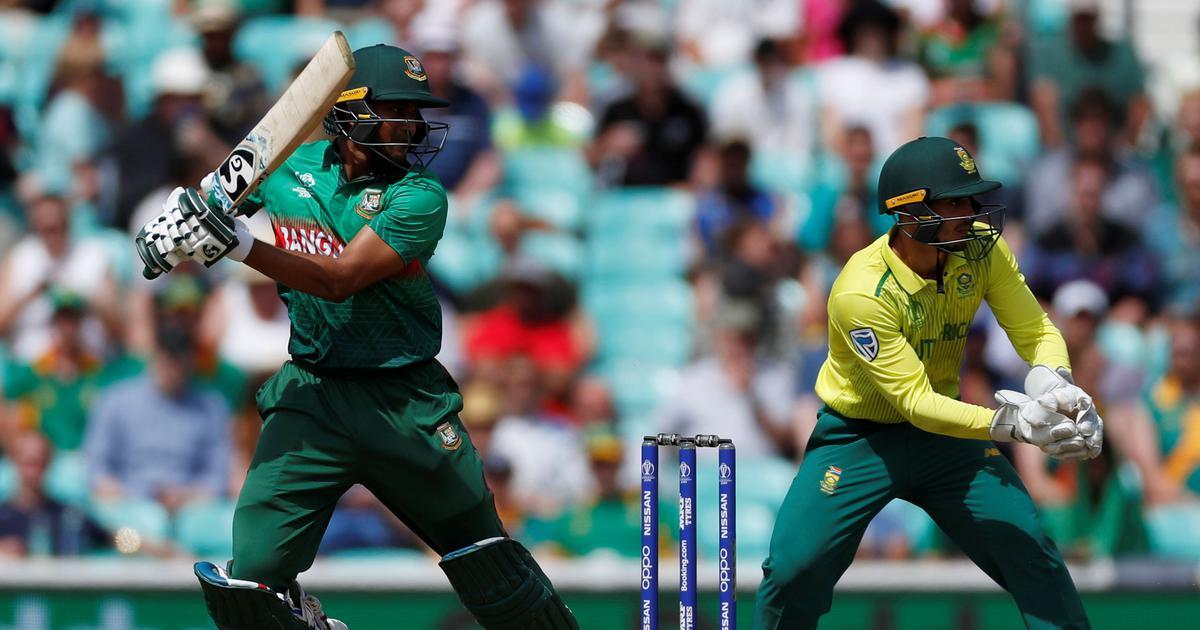 World Cup: Shakib Al Hasan, Mushfiqur Rahim's fifties take Bangladesh to their highest ODI total