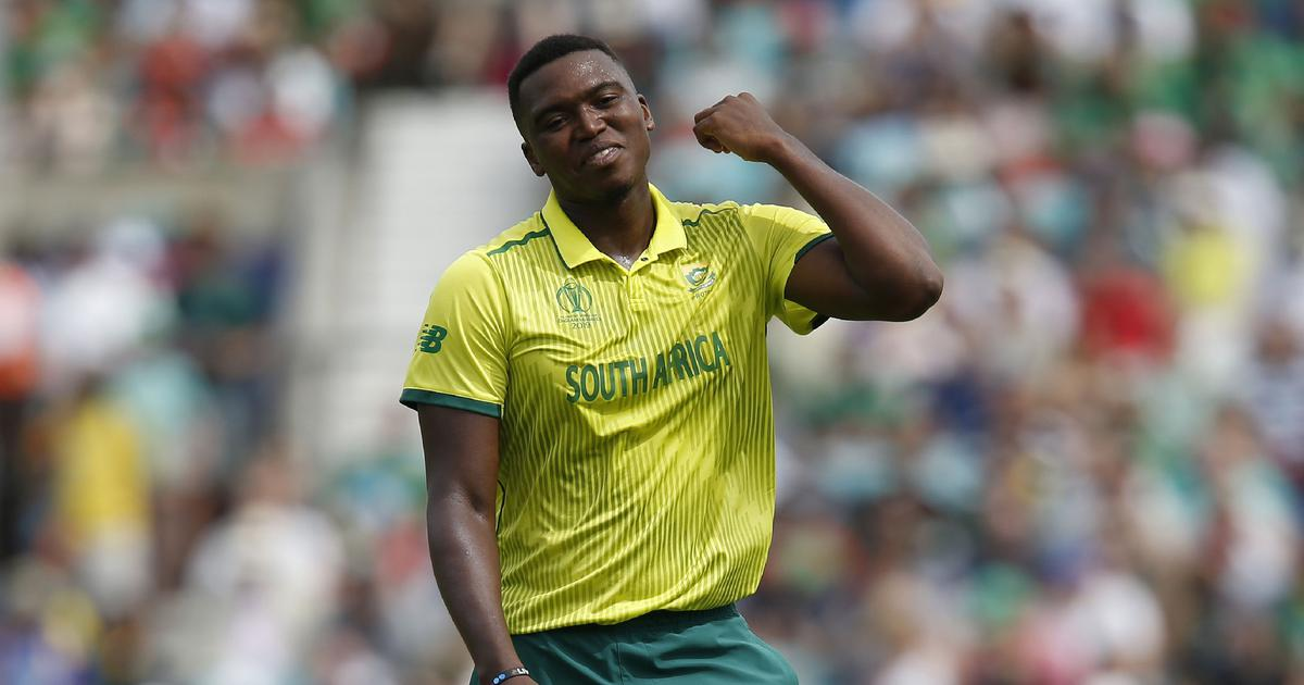 Big Vince stands tall with Lungi Ngidi's BLM stance