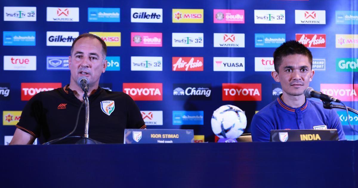 We will continue to back him: Chhetri says India enjoying possession-based football under Stimac
