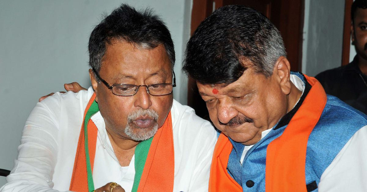 Bengal polls: BJP names 148 candidates for last four phases, Mukul Roy to contest from Krishnanagar