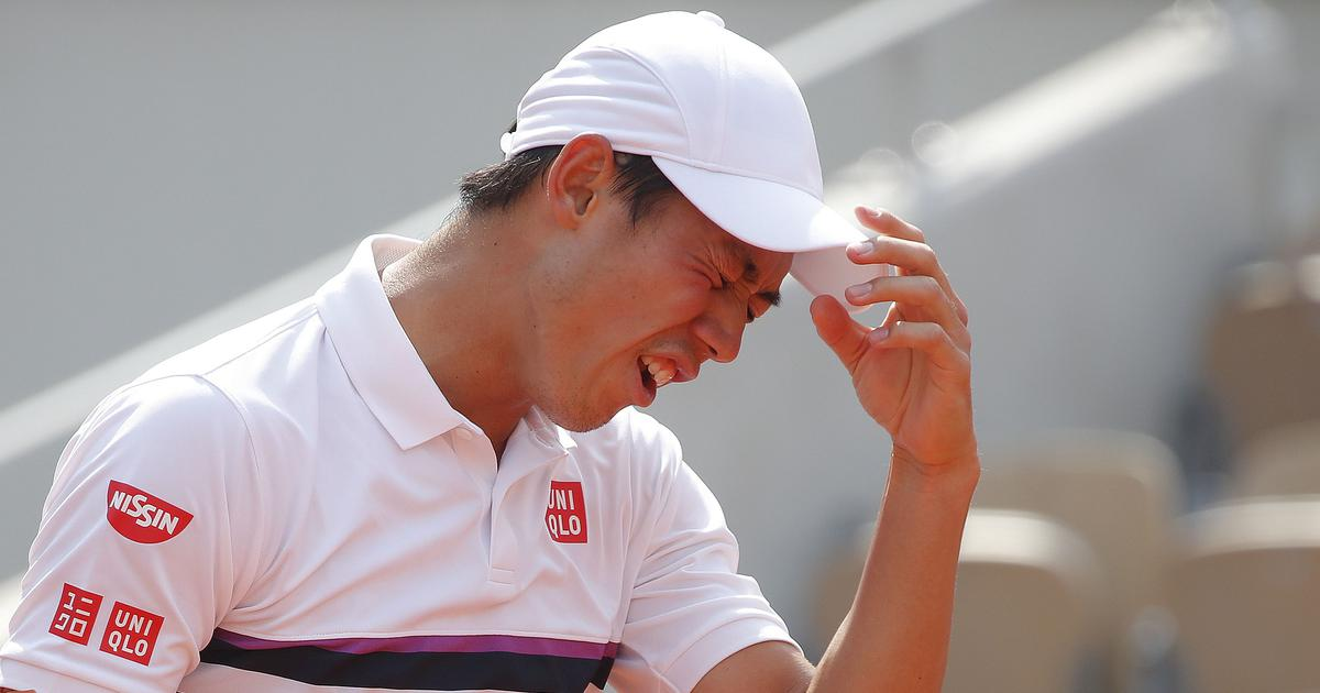 Maybe I am not good enough: Nishikori says he is tired of being 'stuck' in Grand Slam quarter-finals