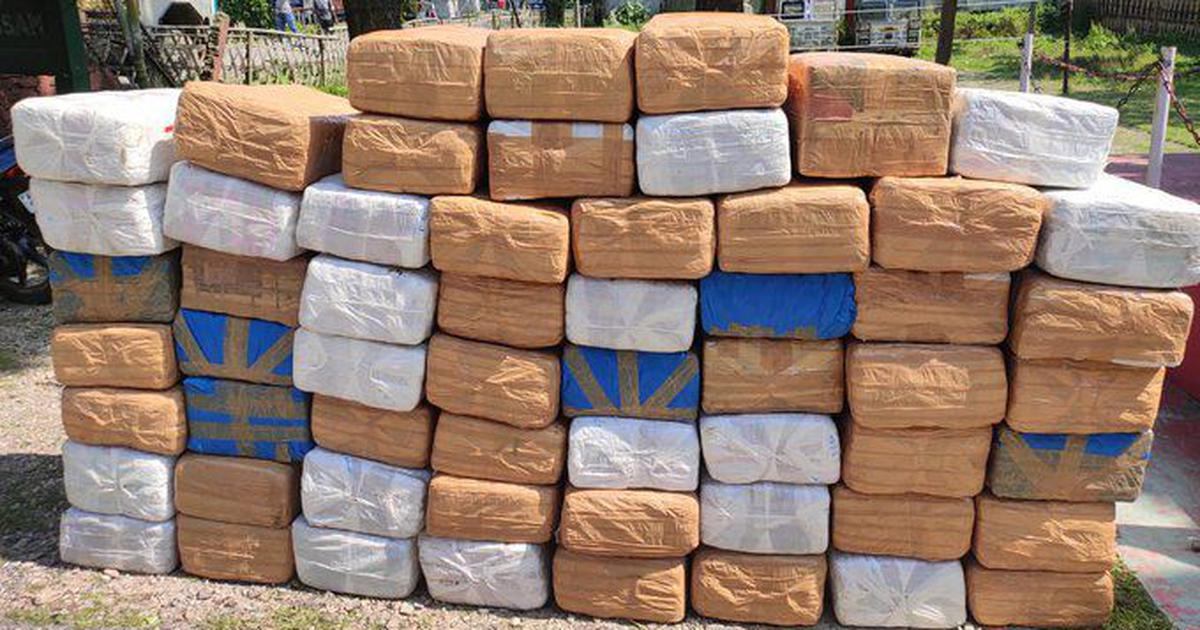 'Anyone lost a huge amount of cannabis last night?': Assam Police's hilarious tweet goes viral