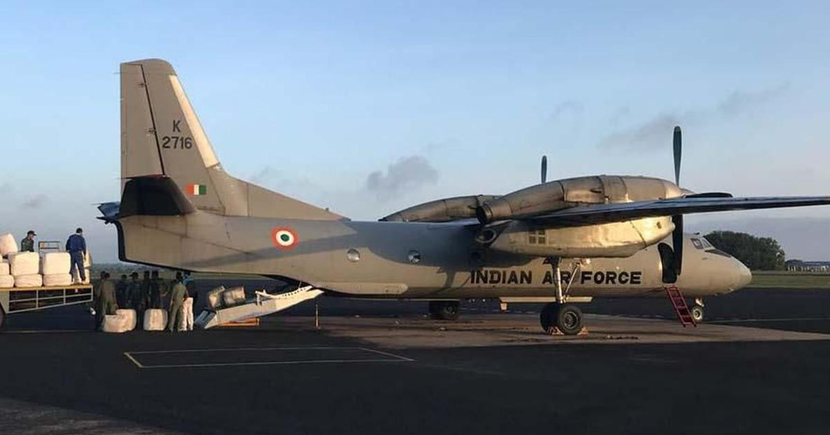 Missing IAF plane: Bad weather hindering search operation but efforts to continue through the night