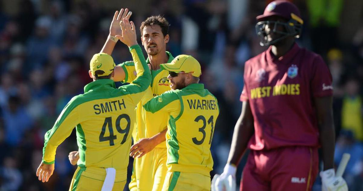 Watch Australia vs West Indies match highlights: Coulter-Nile, Starc power defending champs to win