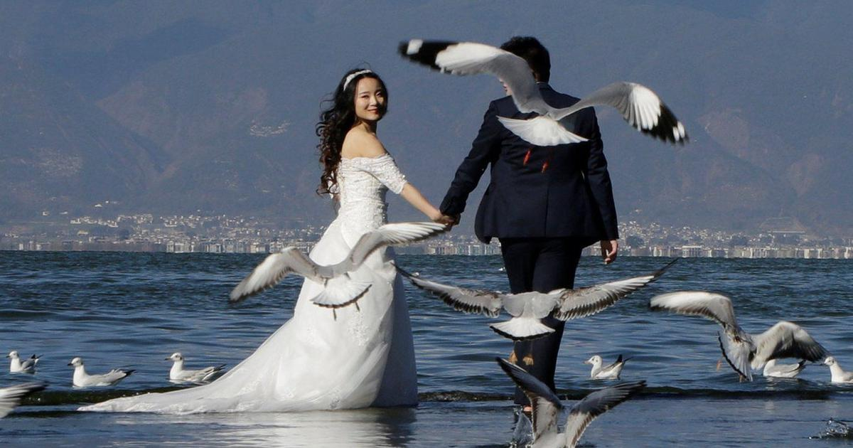 As Chinese weddings become more opulent, brides are finding ways to keep fashion sustainable