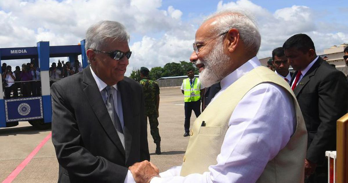 'Short but immensely fruitful visit': Modi holds talks with Sirisena and Wickremesinghe in Sri Lanka