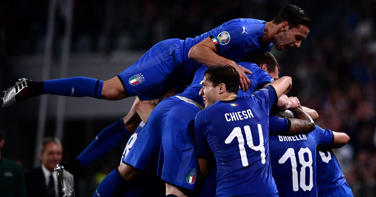 Euro 2020 qualifiers: Italy survive scare against Bosnia to win 2-1; Germany, France win goalfests