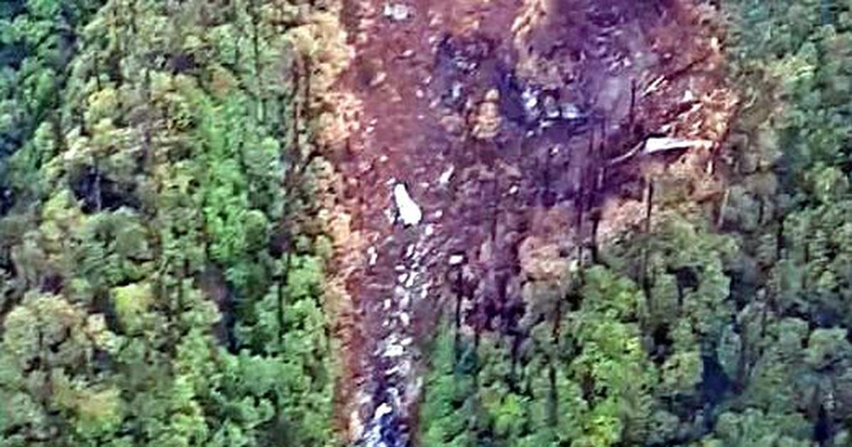 Rescue personnel airlifted close to IAF plane crash site in Arunachal Pradesh