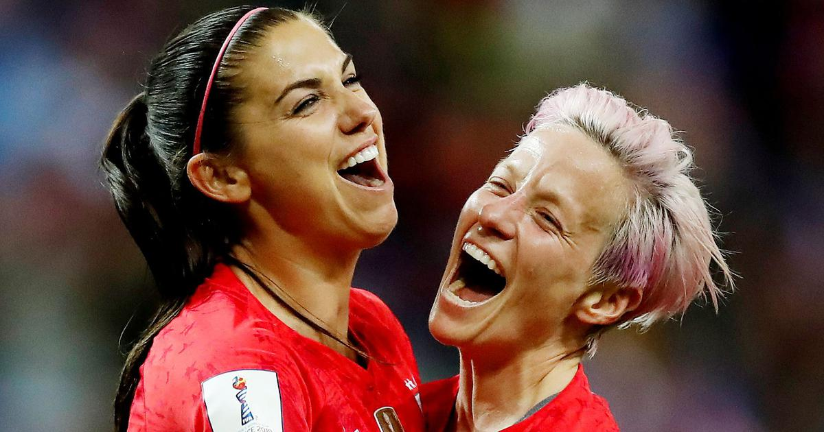 Fifa Women's World Cup: Birthday girl Morgan delivers in Rapinoe's absence as USA reach finals