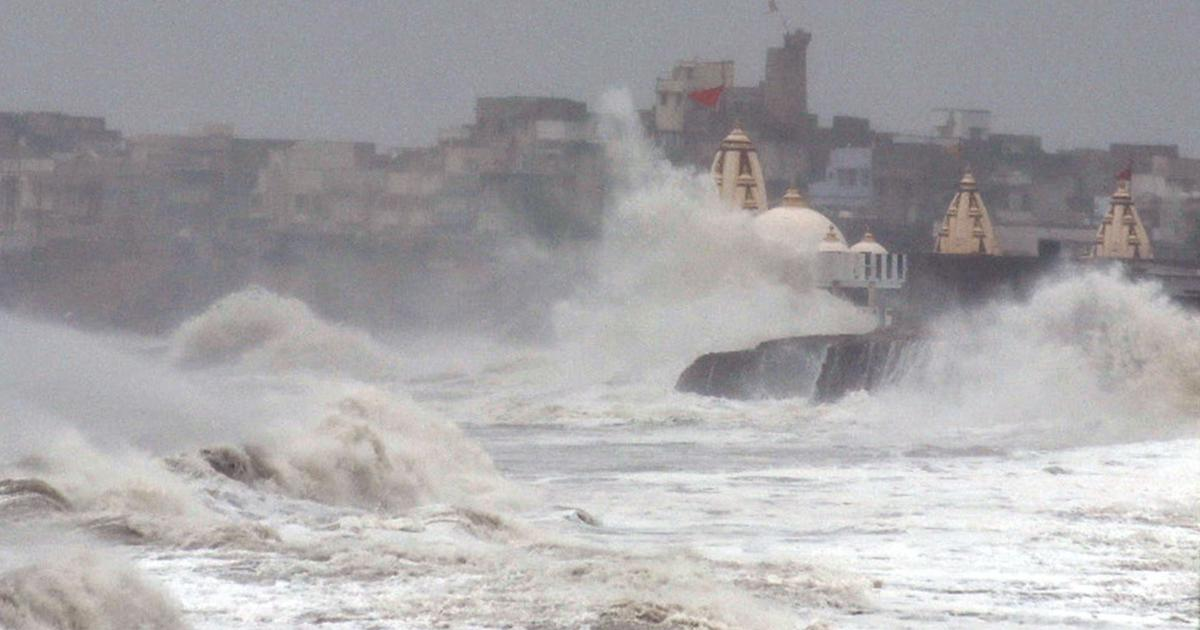 Cyclone Vayu skirts Gujarat as it moves towards Oman, state to remain on high alert for 24 hours