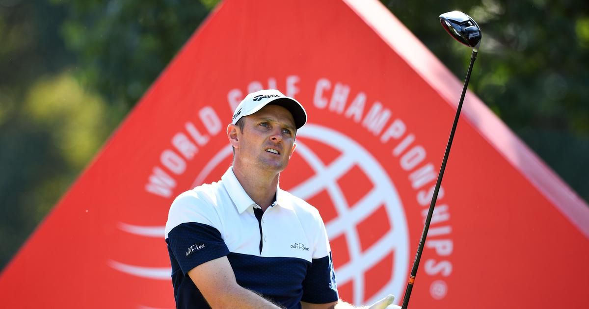 US Open: Justin Rose equals Tiger Woods record for lowest round at Pebble Beach to take sole lead