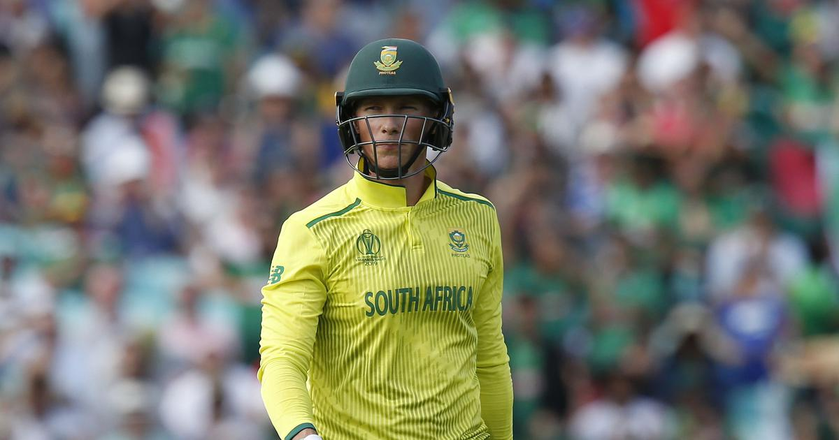 He had a fair chance and said no: De Villiers' replacement van der Dussen unaffected by drama