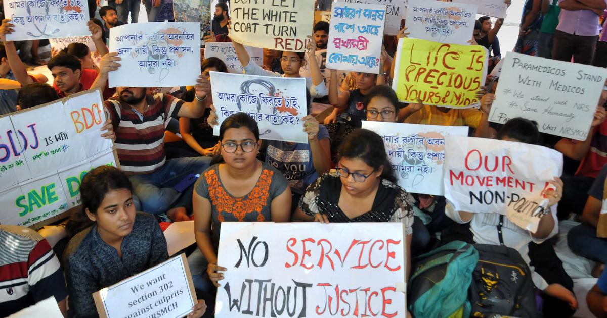 The big news: More than 100 protesting doctors in West Bengal resign, and nine other top stories