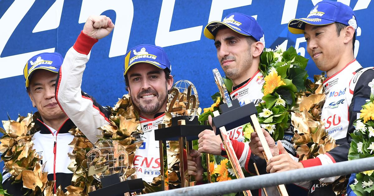 Fernando Alonso wins second straight Le Mans 24 Hour race with Toyota teammates