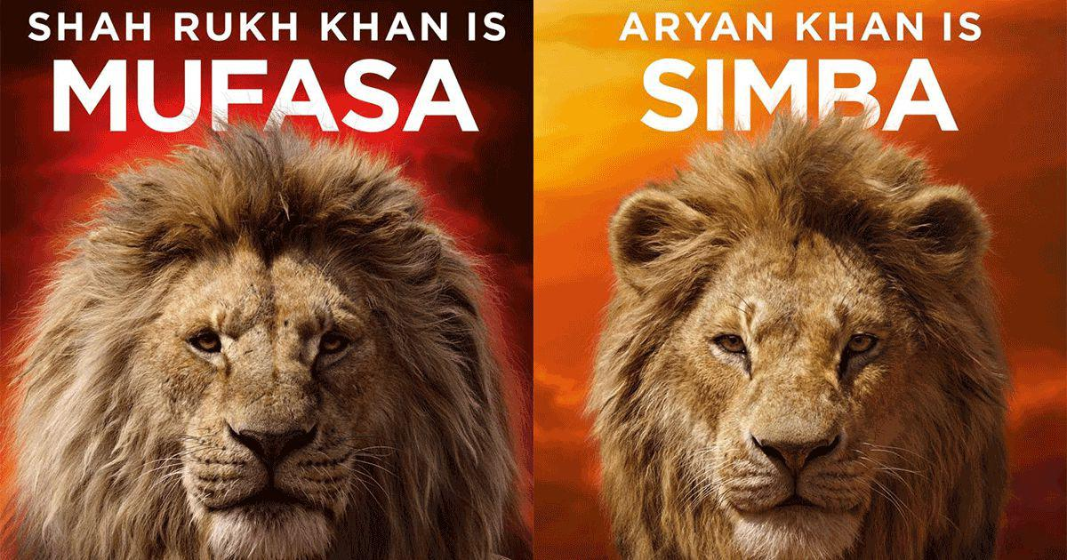 Shah Rukh Khan and son Aryan to voice Hindi version of 'The Lion King'