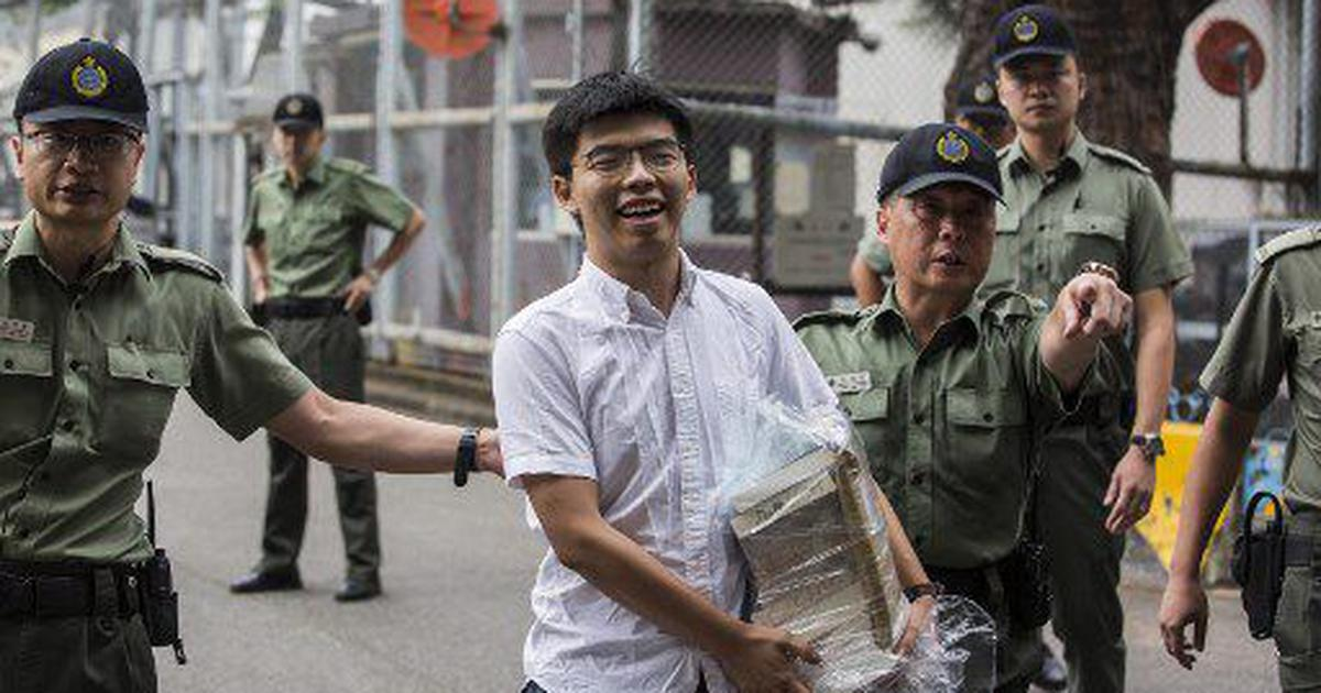 Hong Kong: Student activist Joshua Wong freed from prison, joins protests against extradition bill