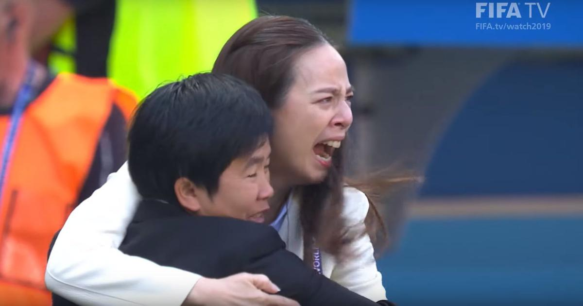 Watch: Thailand mentor Lamsam's tears after historic Women's World Cup goal has a story behind it