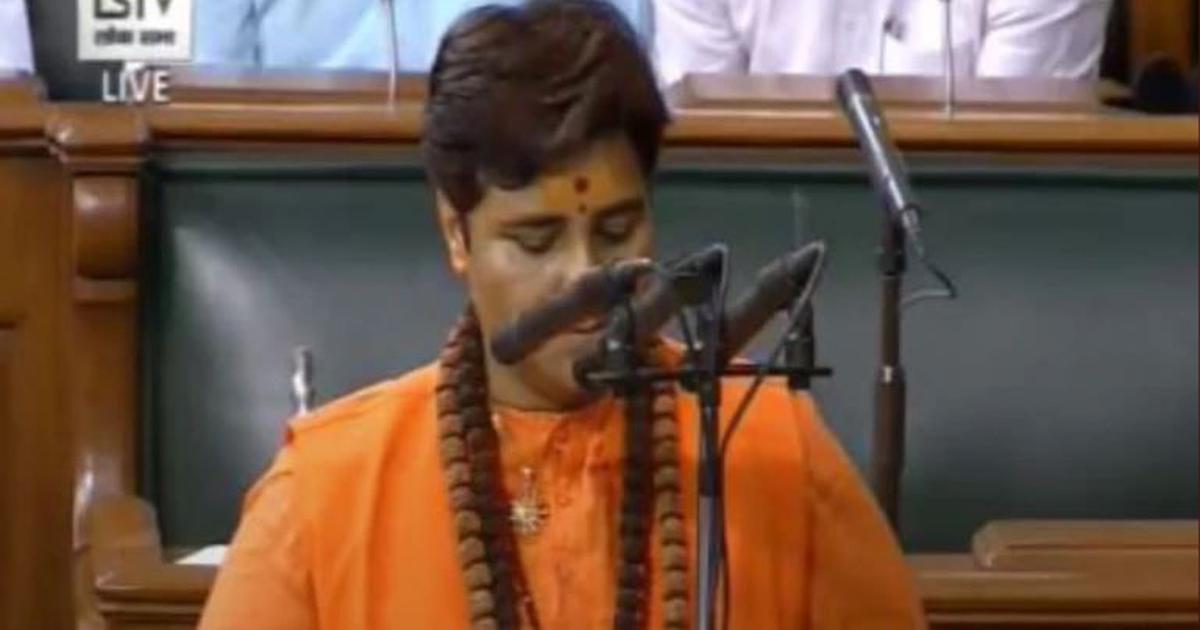 Parliament session: Ruckus in Lok Sabha as BJP MP Pragya Singh Thakur takes oath