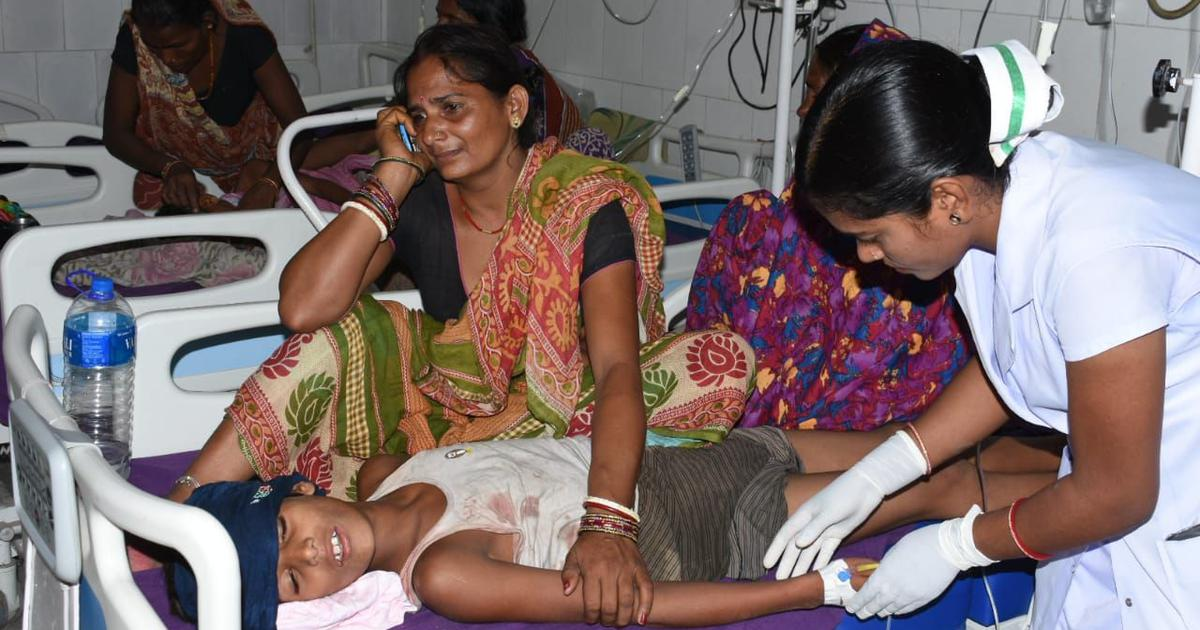 Bihar encephalitis: Toll goes over 100, case filed against Union minister Harsh Vardhan
