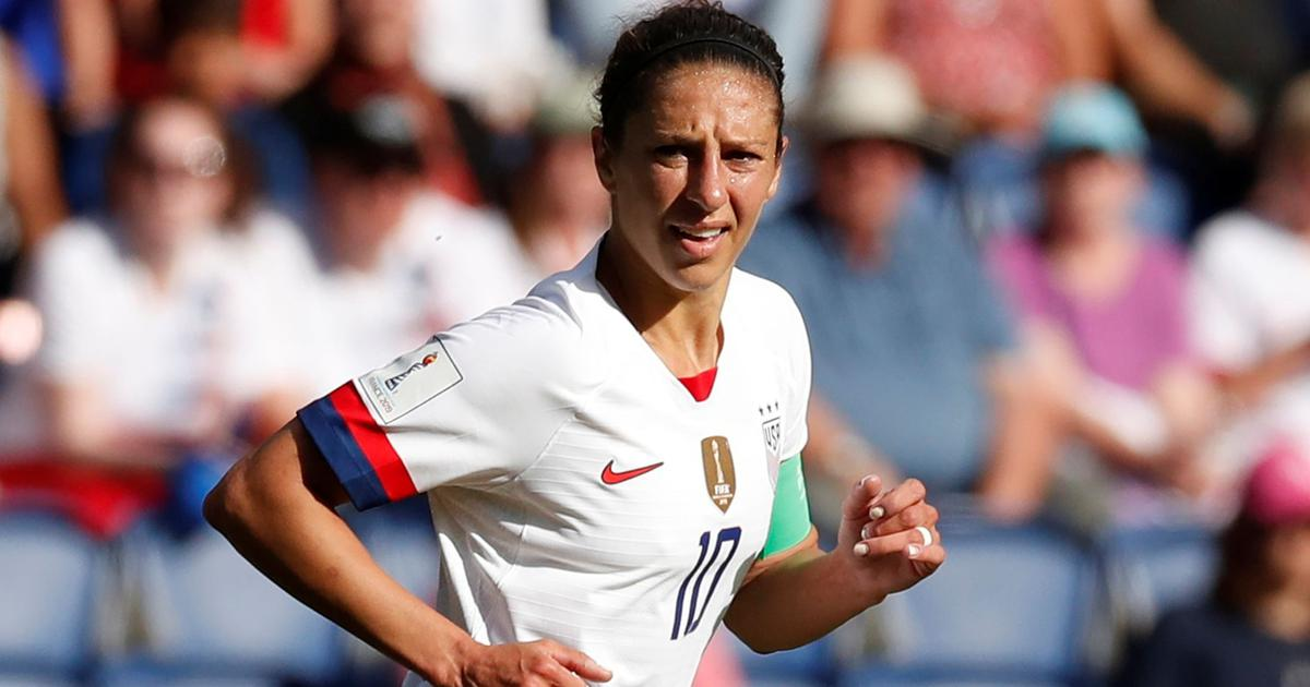 Legend, leader, super sub: Meet Carli Lloyd, breaking records at 36 for USA in Women's World Cup