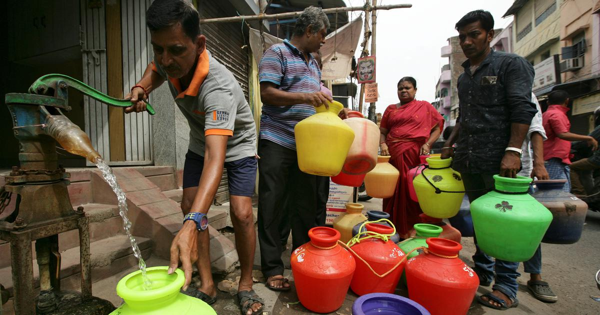 Chennai's water crisis is hurting everyone – from women filling pots to city's 'bachelors mansions'