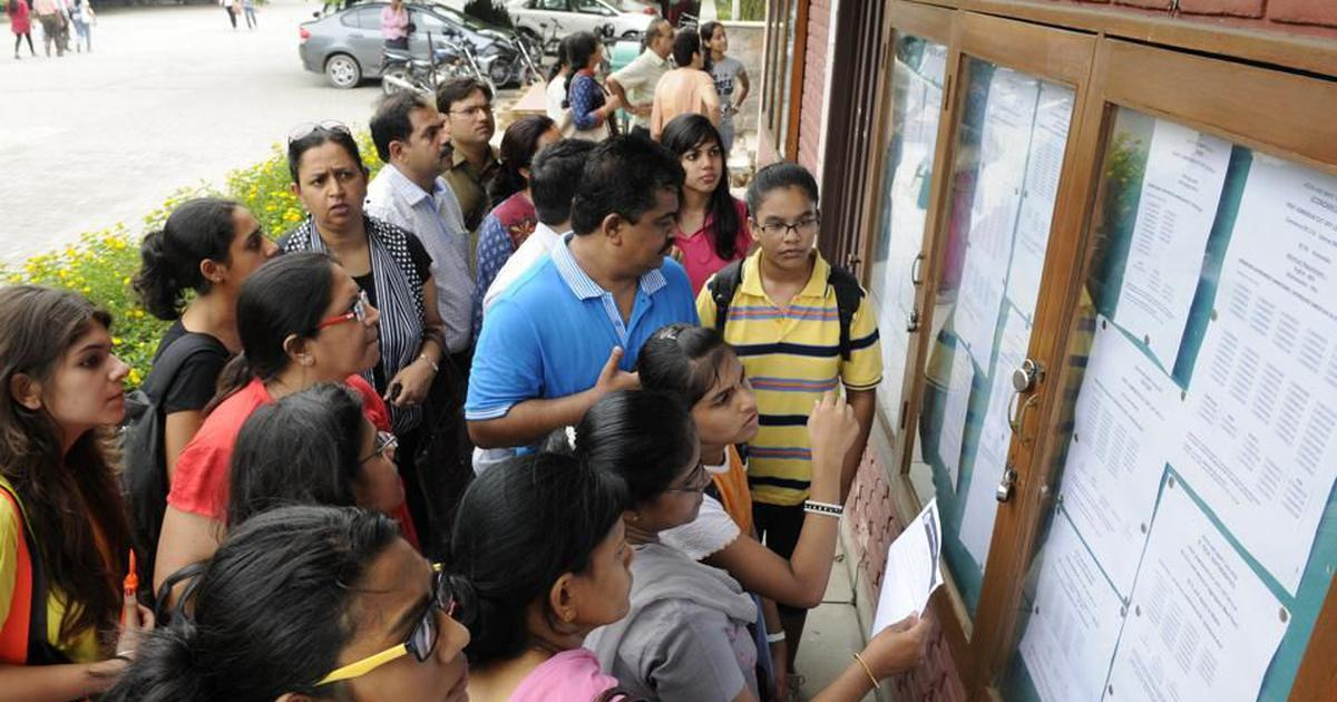 DU releases 6th cut-off list for NCWEB at du.ac.in