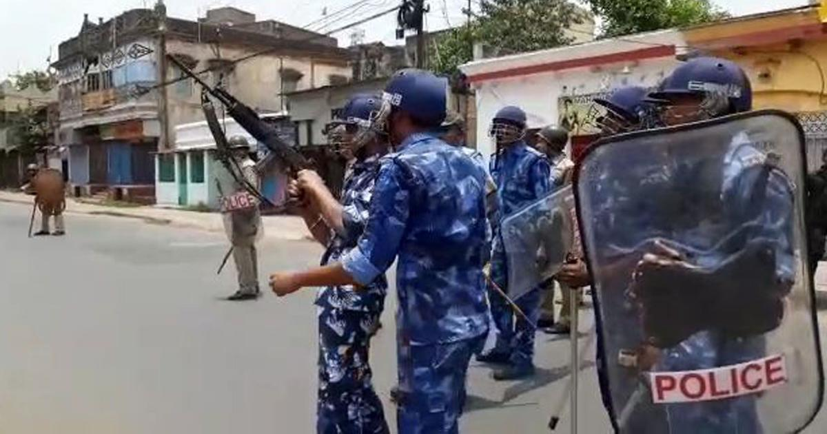 West Bengal: 16 arrested for violence in Bhatpara, situation remains tense
