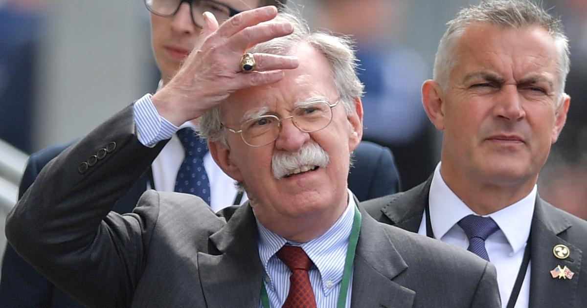 US National Security Advisor John Bolton warns Iran, says military is 'rebuilt and ready to go'