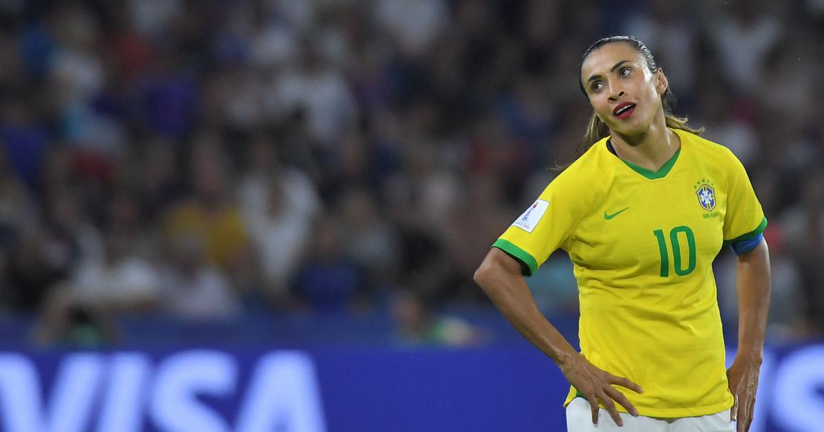 Cry at the beginning, smile at the end: Marta asks for support after Brazil exit Women's World Cup
