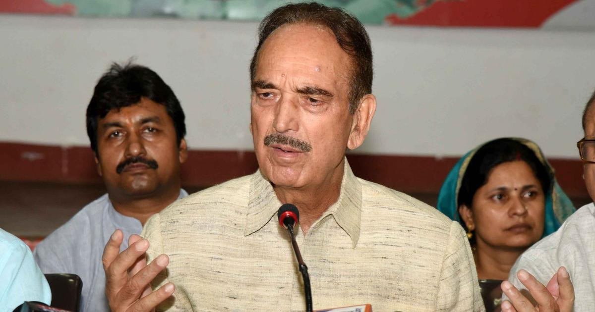 Ajit Doval's lunch with Kashmiris: Ghulam Nabi Azad alleges local people seen in video were bribed