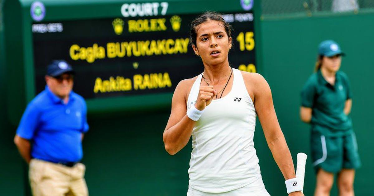 Indian tennis wrap: Ankita Raina advances at Wimbledon qualifiers, Prajnesh out of Antalya Open