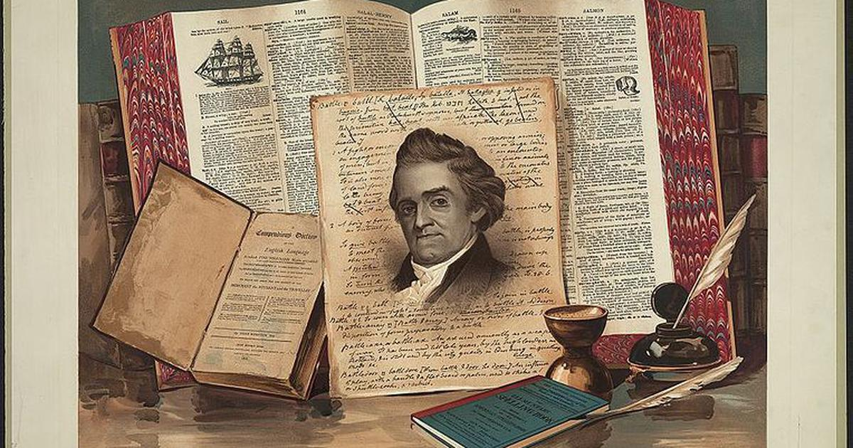 Wimmen, meen and greeve: How Noah Webster tried to create a truly American English dictionary